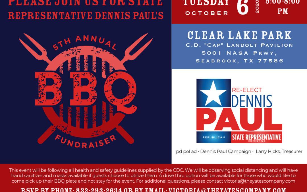5th Annual BBQ Fundraiser