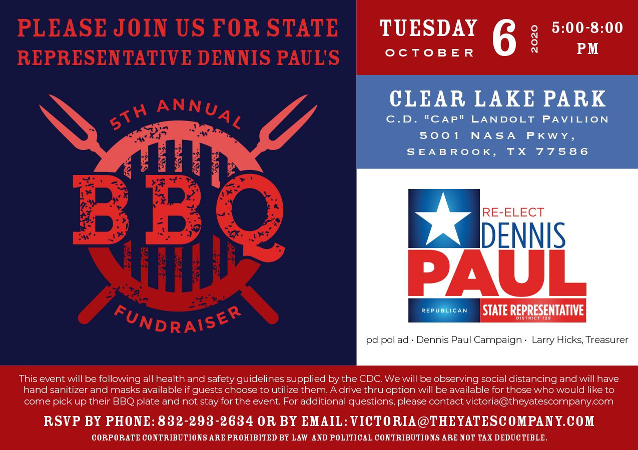 Dennis Paul BBQ Fundraiser